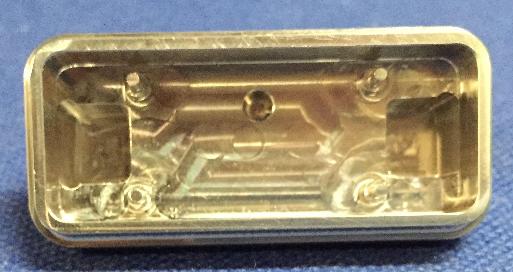 Fraisage inox 316L